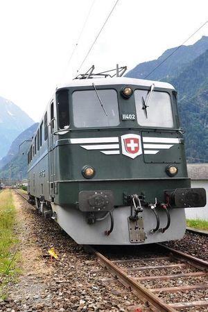 1. August Fahrt von Erstfeld nach Bodio