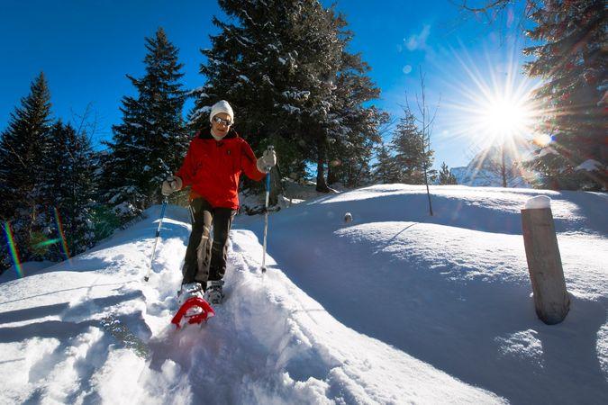 Schneeschuhtrail 882: Arnisee