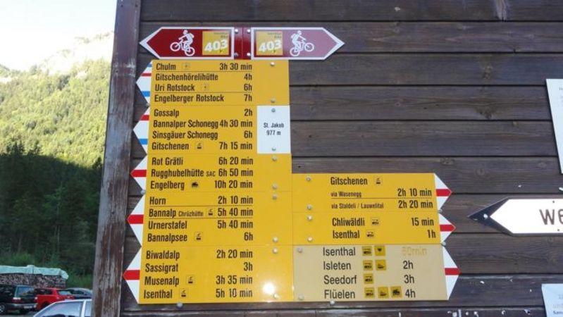 Naturkundlicher Höhenweg Isenthal Route 2