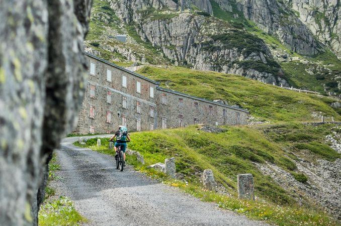 Biketour Furka Höhenweg (Urschner Höhenweg)