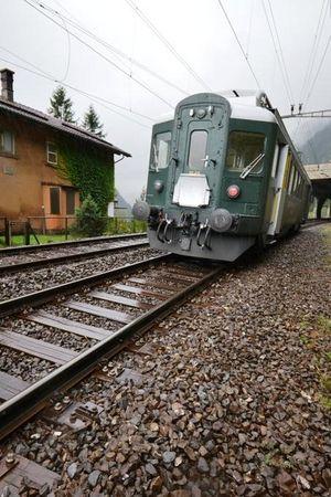 Führerstandsfahrten über den Gotthard