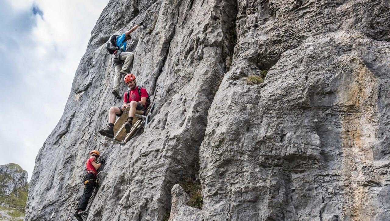 Klettersteig Fruttstägä : Klettersteig fruttstägä m u tourenberichte und fotos