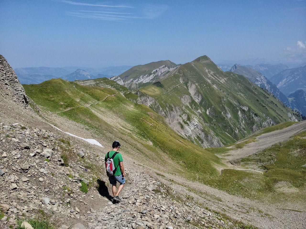 Bergtour über den Brisen