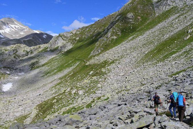 Alpenkranz 22. Etappe: Gotthardpass - Cavannapass - Rotondohütte
