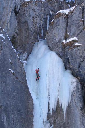Eisklettern im Kanton Uri