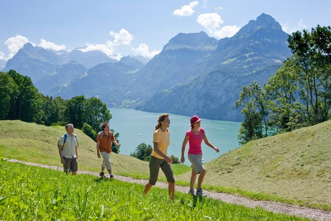 Kulinarische Wanderung entlang des «Weges der Schweiz»