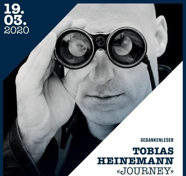 """Gedankenleser Tobias Heinemann """"Journey"""""""