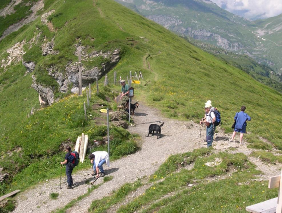 Clariden Höhenweg