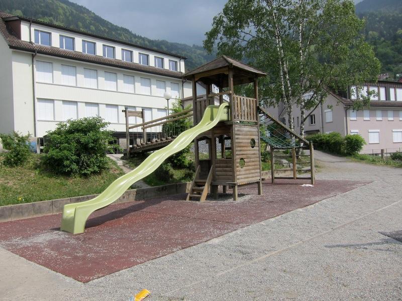 Spielplatz Schattdorf Schulhaus Spielmatt