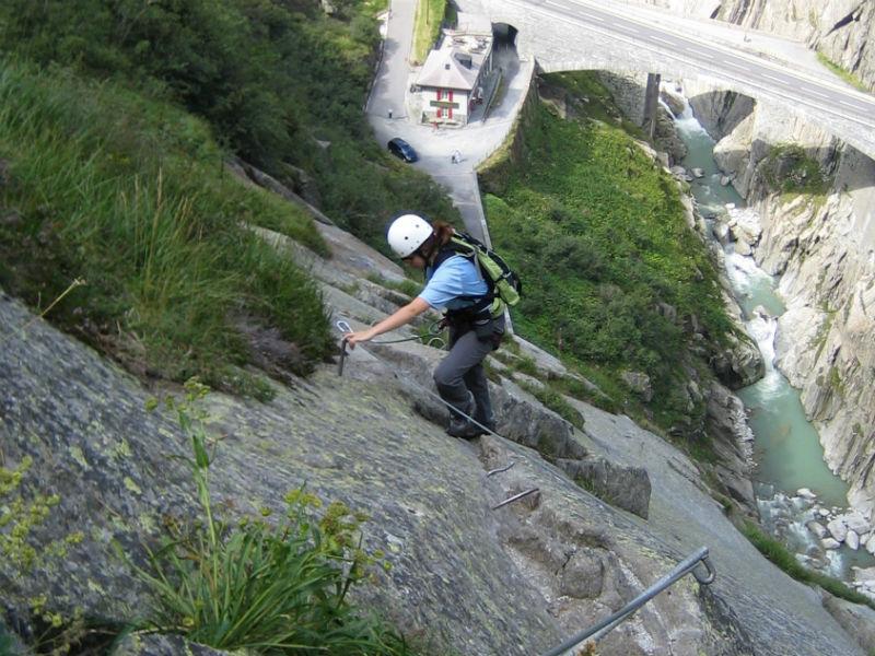 Klettersteig Diavolo