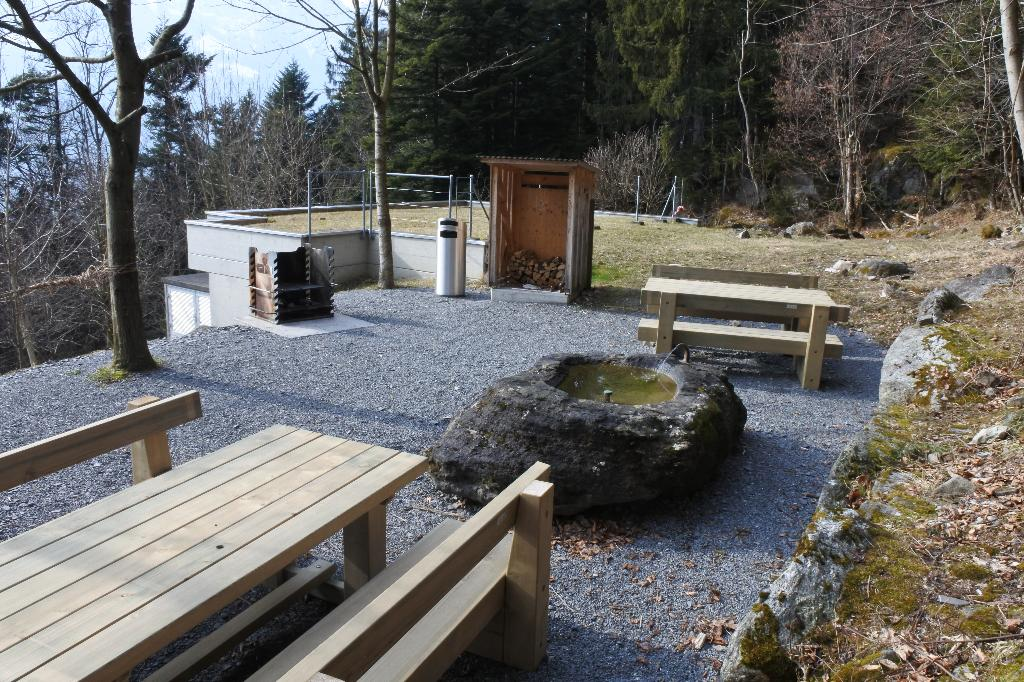 Feuerstelle Altdorf Wasserreservoir