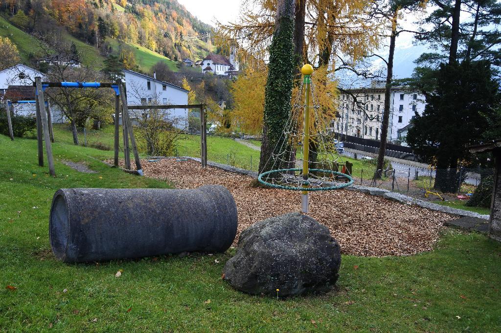 Spielplatz Flüelen Rossstall