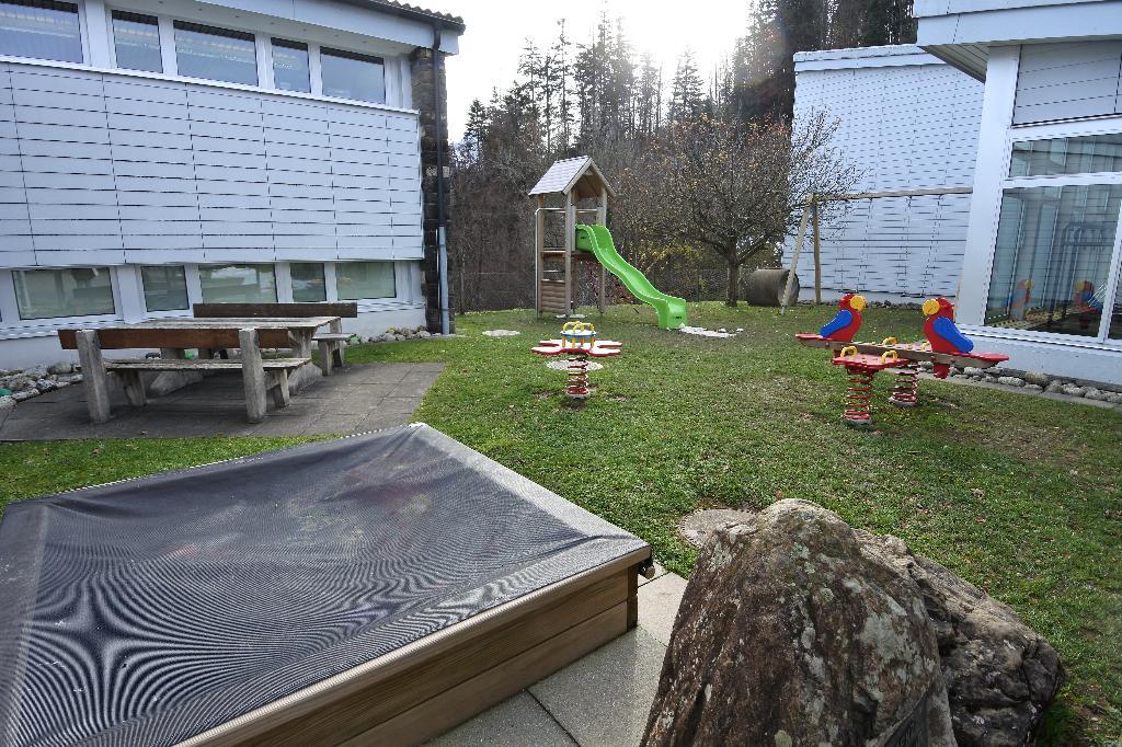 Spielplatz Seelisberg Primarschulhaus